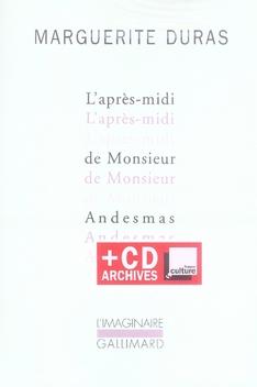L-APRES-MIDI DE MONSIEUR ANDES