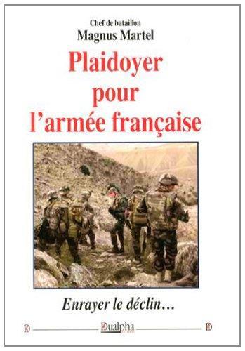 Plaidoyer pour l'armee francaise
