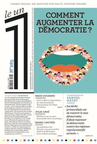LE 1 N.285  -  COMMENT AUGMENTER LA DEMOCRATIE ? COLLECTIF