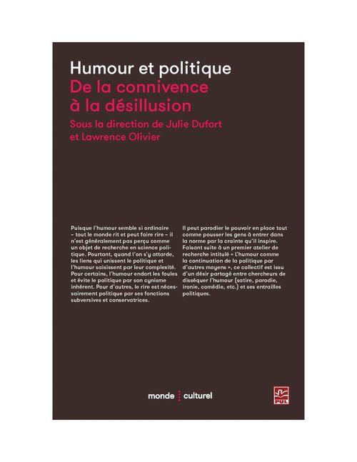 humour et politique ; de la connivence à la désillusion