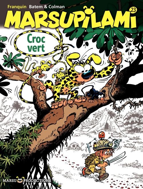 Marsupilami T.23 ; Croc vert