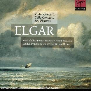 concerto pour violon opus 61, concerto pour violoncelle opus 85, sea pictures opus 37