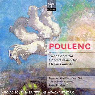 concertos pour piano - concert champêtre - concerto pour orgue - aubade