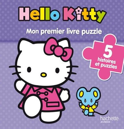Hello Kitty ; Mon Premier Livre-Puzzle