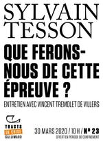 Vente EBooks : Tracts de Crise (N°23) - Que ferons-nous de cette épreuve ?  - Sylvain Tesson