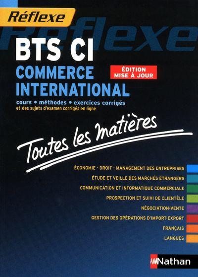 Bts Commerce International ; Toutes Les Matieres