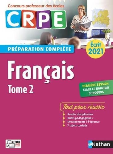 Français t.2 ; écrit (édition 2021)