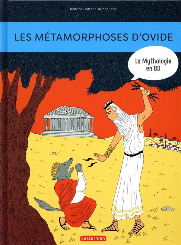 La mythologie en BD T.17 ; les métamorphoses d'Ovide