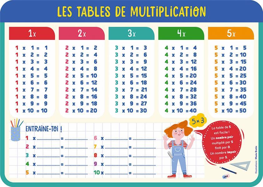 mes ardoises multiplication