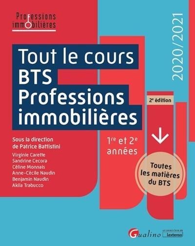 Tout le cours BTS Professions immobilières (édition 2020/2021)