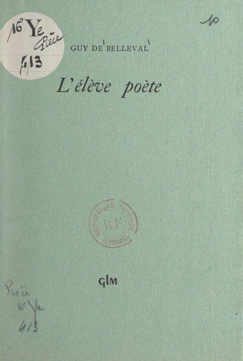 L'élève poète