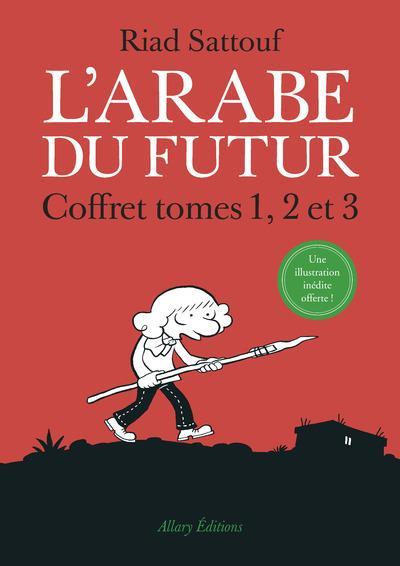 L'Arabe du futur ; COFFRET T.1 A T.3
