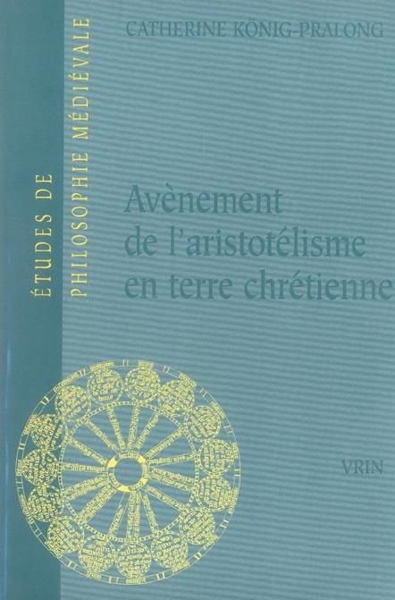 avenement de l'aristotelisme en terre chretienne