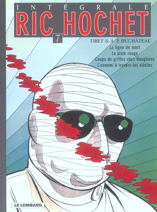 Ric Hochet ; INTEGRALE VOL.7