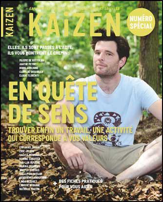 Kaizen hors-serie ; numero special : en quete de sens
