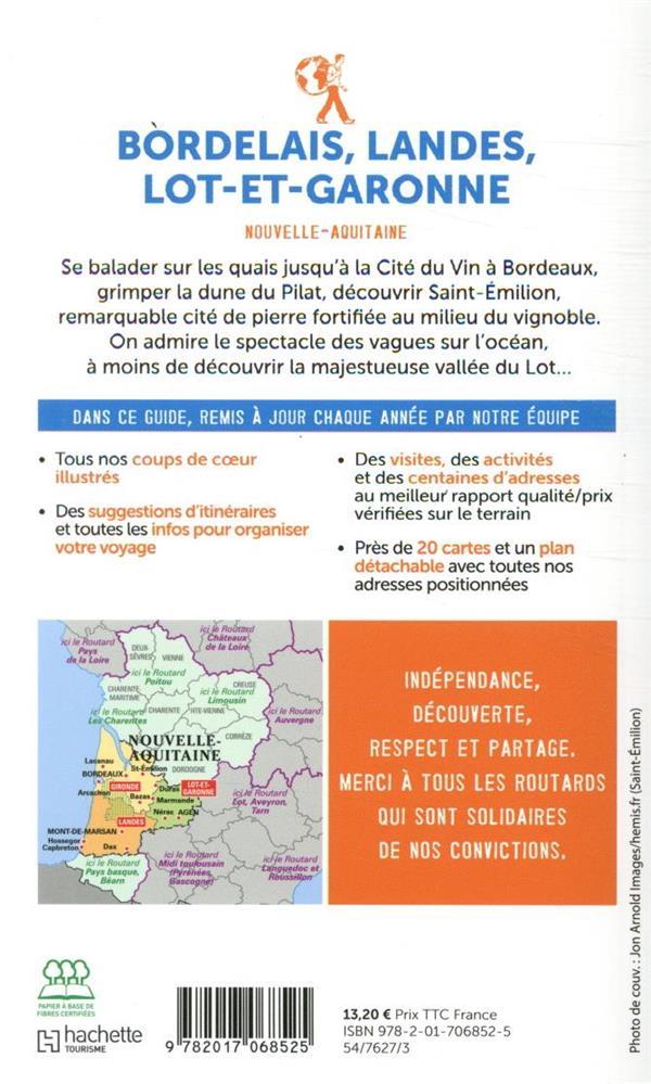 Guide du Routard ; Bordelais, Landes, Lot-et-Garonne (Nouvelle-Aquitaine) (édition 2020)