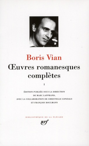 VIAN, BORIS - OEUVRES ROMANESQUES COMPLETES - VOL01