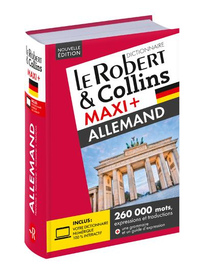 LE ROBERT & COLLINS ; MAXI + ; allemand (édition 2019)