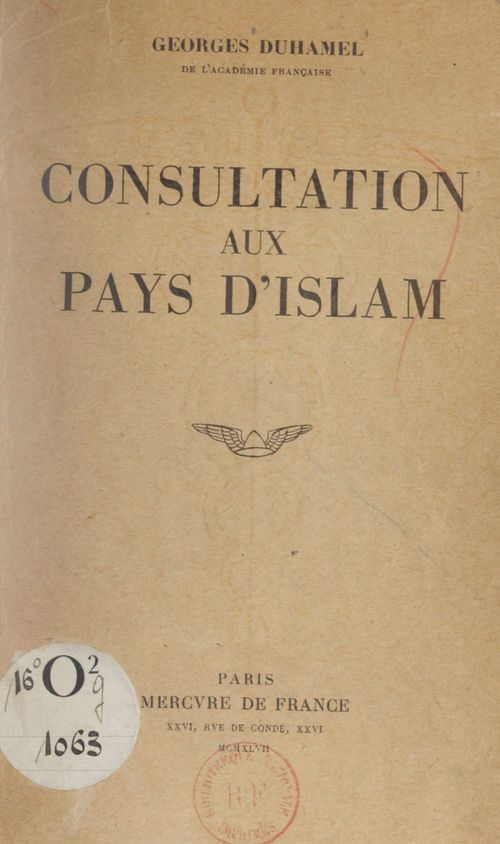 Consultation aux pays d'Islam