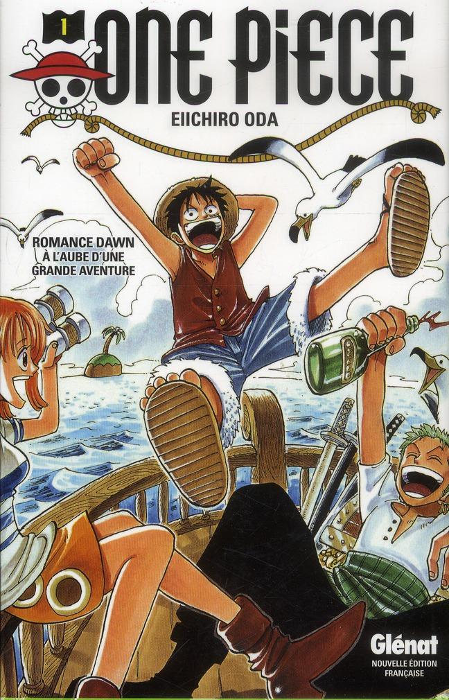 One Piece T.1 ; A L'Aube D'Une Grande Aventure