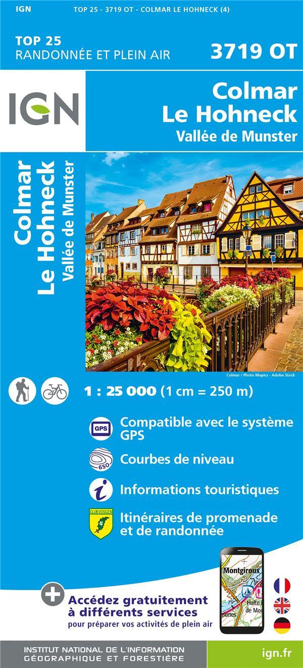 3719OT ; Colmar, le Hohneck (4e édition)