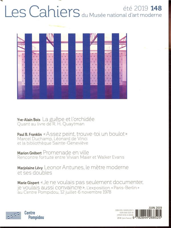 Cahier du musee 148 (edition 2019)