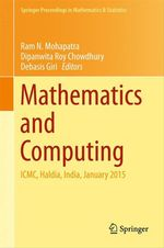 Mathematics and Computing  - Ram N. Mohapatra - Dipanwita Roy Chowdhury - Debasis Giri