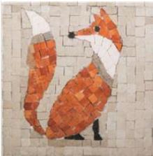 Mosaikit ; renard géant
