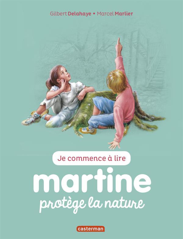 Je commence à lire avec Martine T.42 ; Martine protège la nature