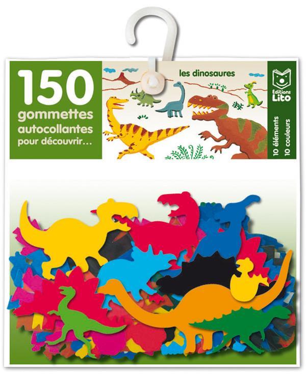 150 Gommettes Pour Decouvrir... ; Les Dinosaures