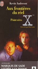 Couverture de Aux frontieres du reel  t3 - point zero