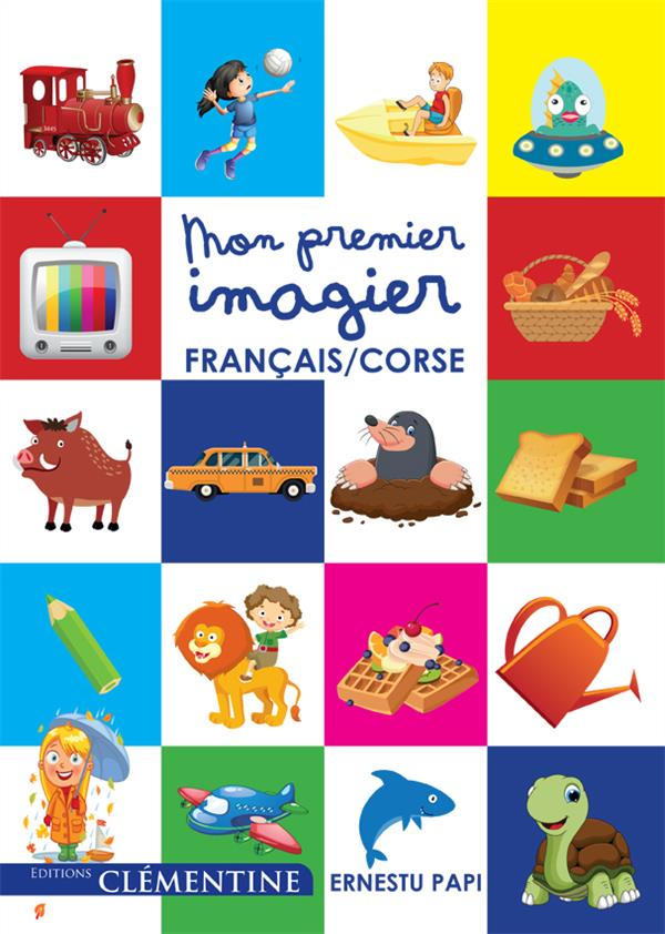 MON PREMIER IMAGIER FRANCAIS-CORSE
