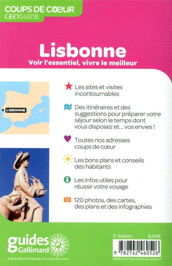 GEOguide coups de coeur ; Lisbonne (édition 2020)