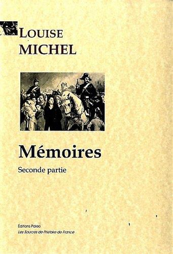 Mémoires, seconde partie