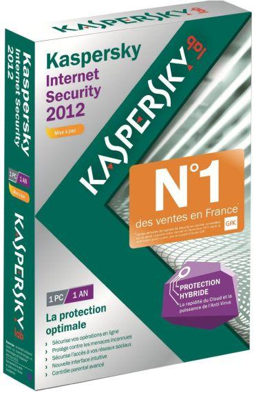 Kaspersky internet security 2012 (mise à jour)