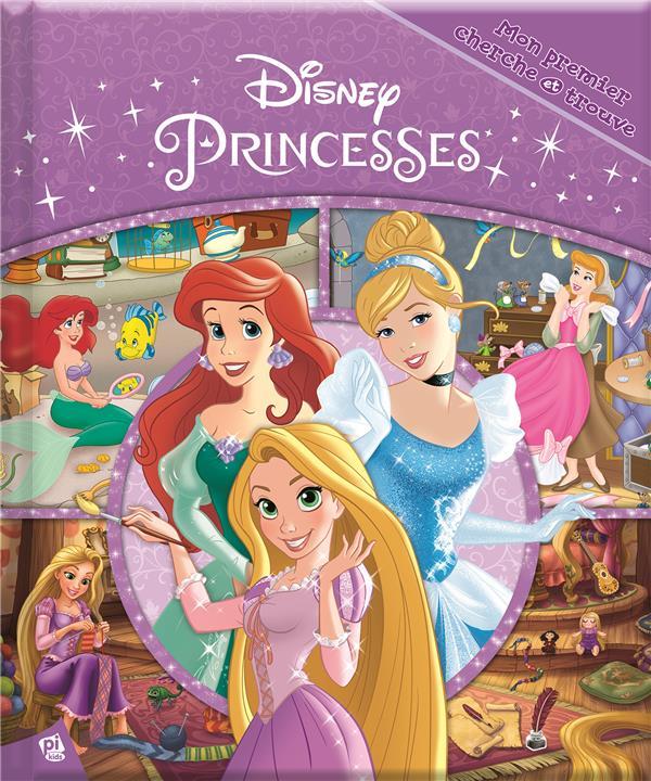 Mon premier cherche et trouve ; Disney Princesses