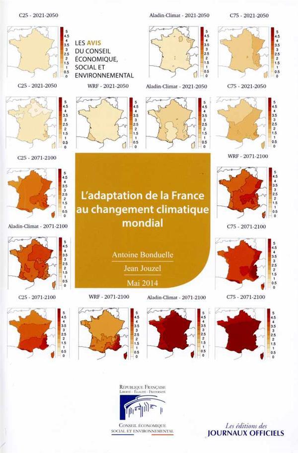 L'adaptation de la France au changement climatique mondial mai 2014 n 41114-0013