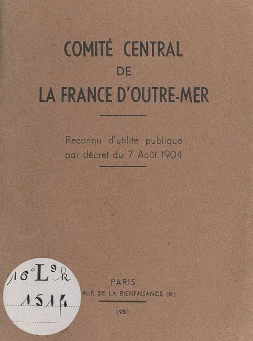 Comité central de la France d'outre-mer