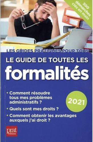 Le guide de toutes les formalités (édition 2021)
