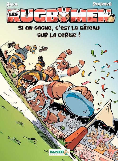 Vente Livre Numérique : Les Rugbymen  - Poupard  - Béka