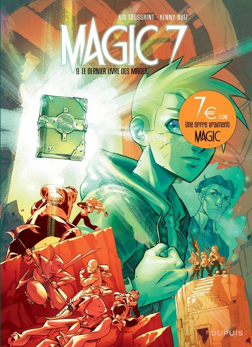 Magic 7 T.9 ; le dernier livre des mages