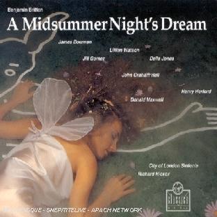 Le Songe D'une Nuit D'été (A Midsummer Night's Dream)