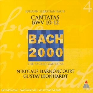 Cantatas Bwv 10-12 (the Sacred Cantatas)