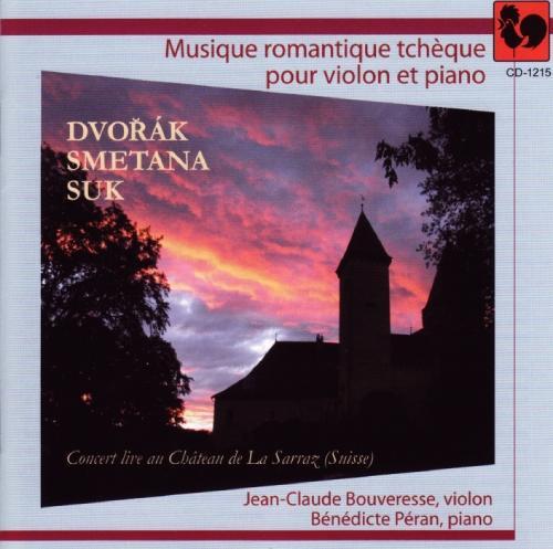 musique romantique tchèque pour violon et piano