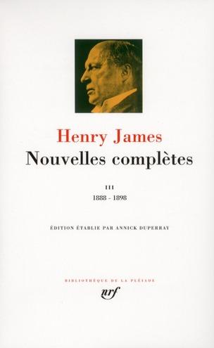Nouvelles complètes t.3 ; 1888-1898