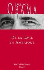 Vente Livre Numérique : De la race en Amérique  - Barack Obama