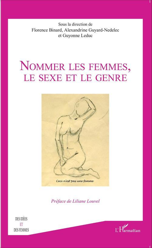 Nommer les femmes, le sexe et le genre