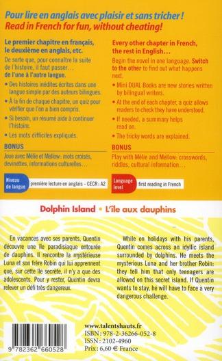 Dolphin island ; l'île aux dauphins