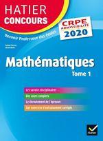 Vente Livre Numérique : Mathématiques tome 1 - CRPE 2020 - Epreuve écrite d'admissibilité  - Michel Mante - Roland Charnay - Micheline Cellier
