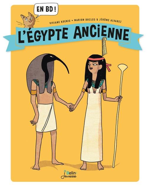 L'Egypte ancienne en BD !